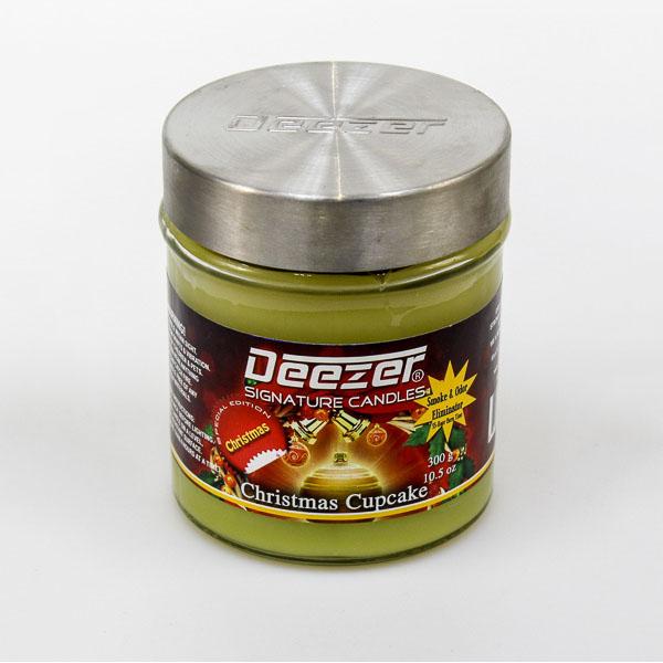 Deezer Candle Christmas Cupcake Deezerusa Com